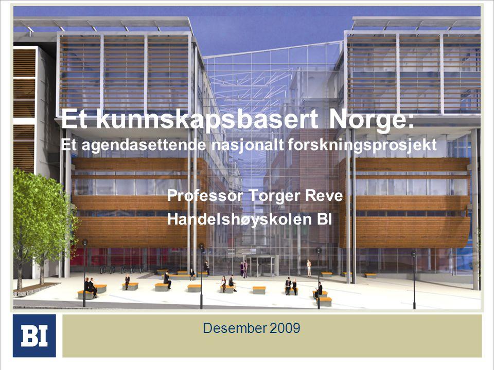 Professor Torger Reve Handelshøyskolen BI