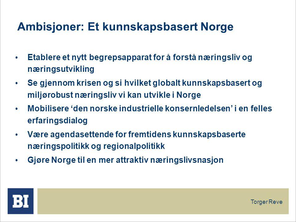 Ambisjoner: Et kunnskapsbasert Norge