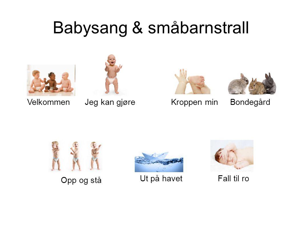 Babysang & småbarnstrall