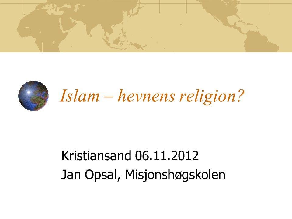 Islam – hevnens religion