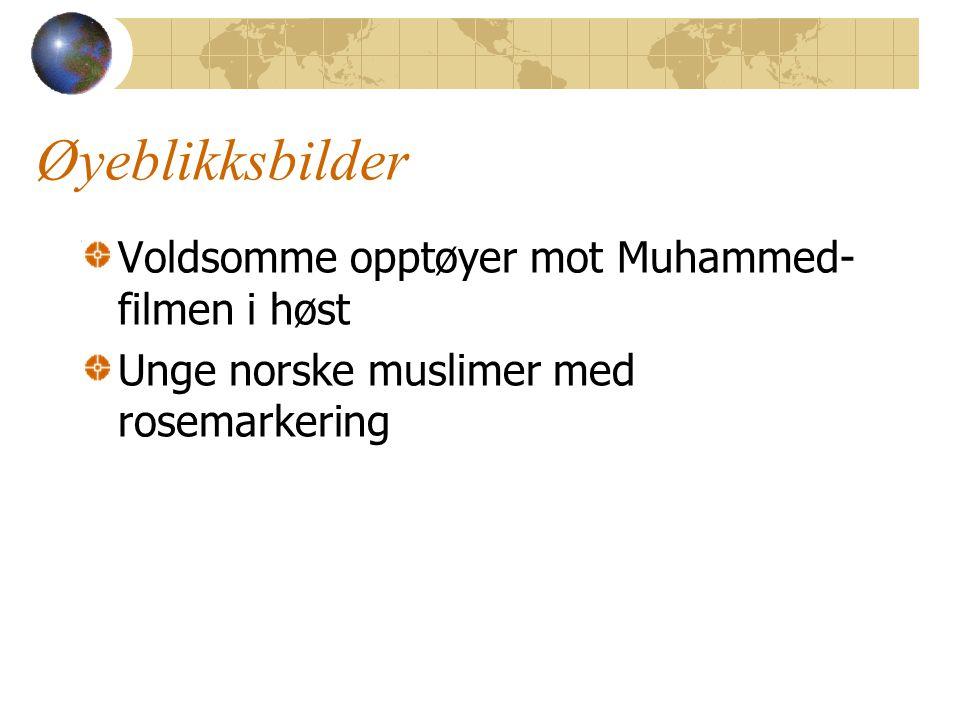 Øyeblikksbilder Voldsomme opptøyer mot Muhammed-filmen i høst