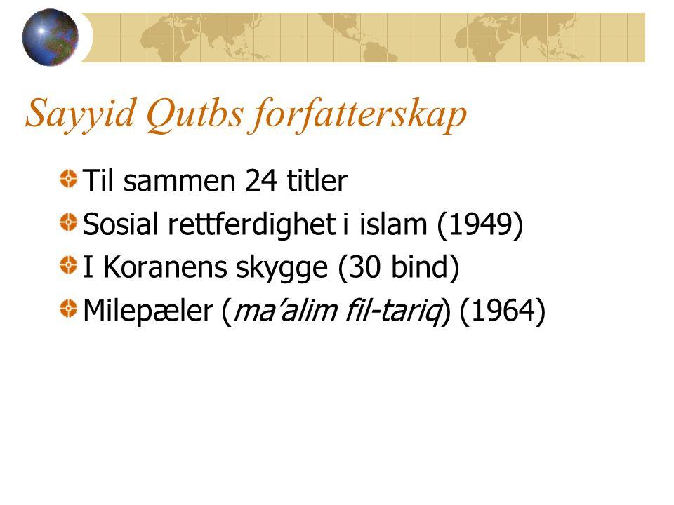 Sayyid Qutbs forfatterskap