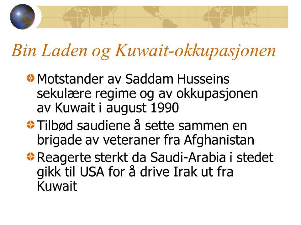 Bin Laden og Kuwait-okkupasjonen