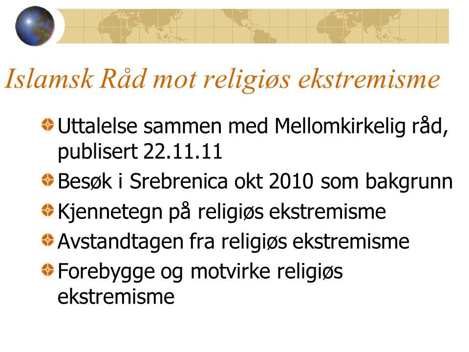 Islamsk Råd mot religiøs ekstremisme