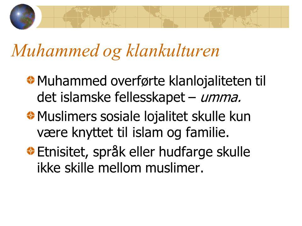 Muhammed og klankulturen
