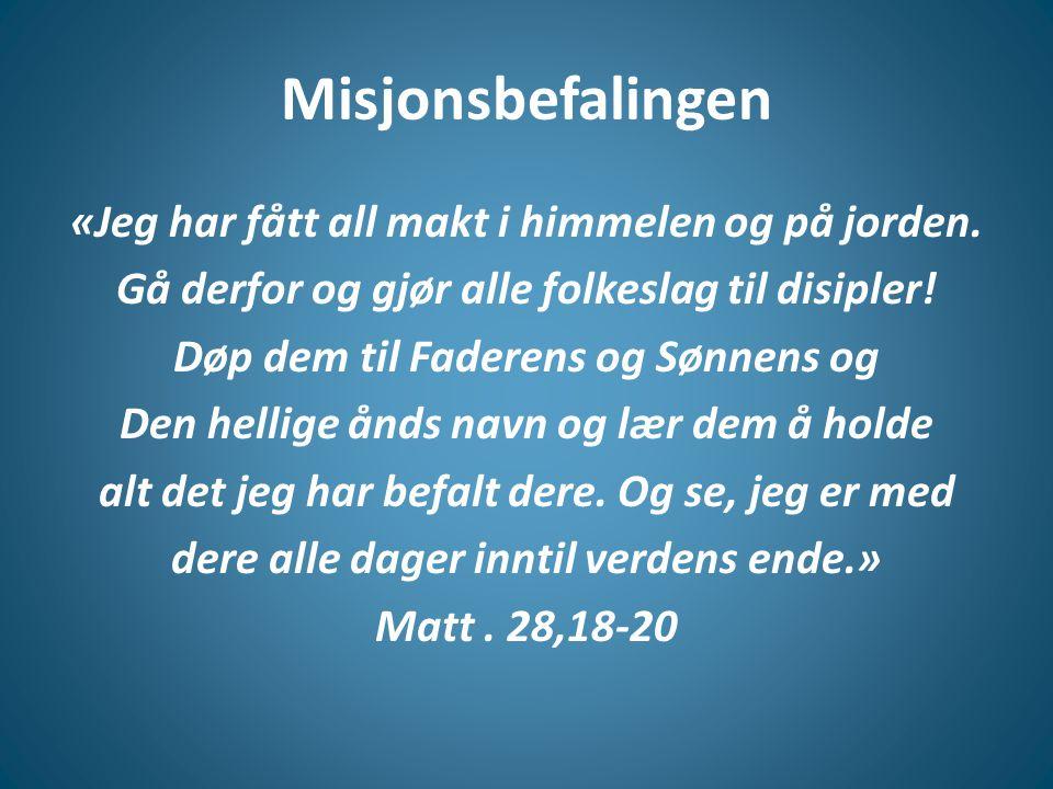 Misjonsbefalingen