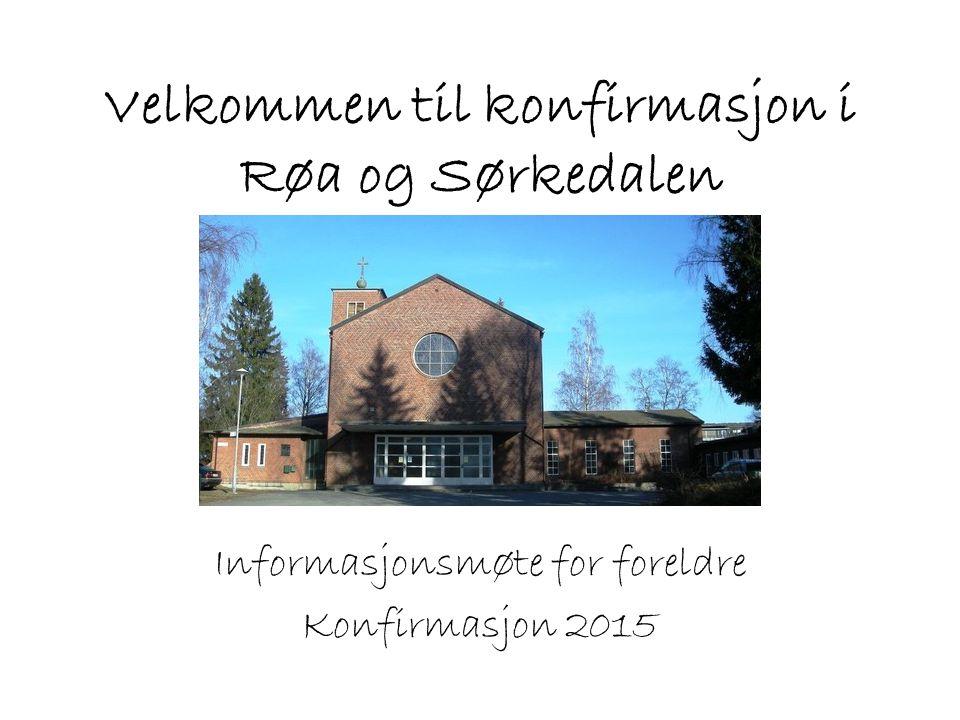 Velkommen til konfirmasjon i Røa og Sørkedalen