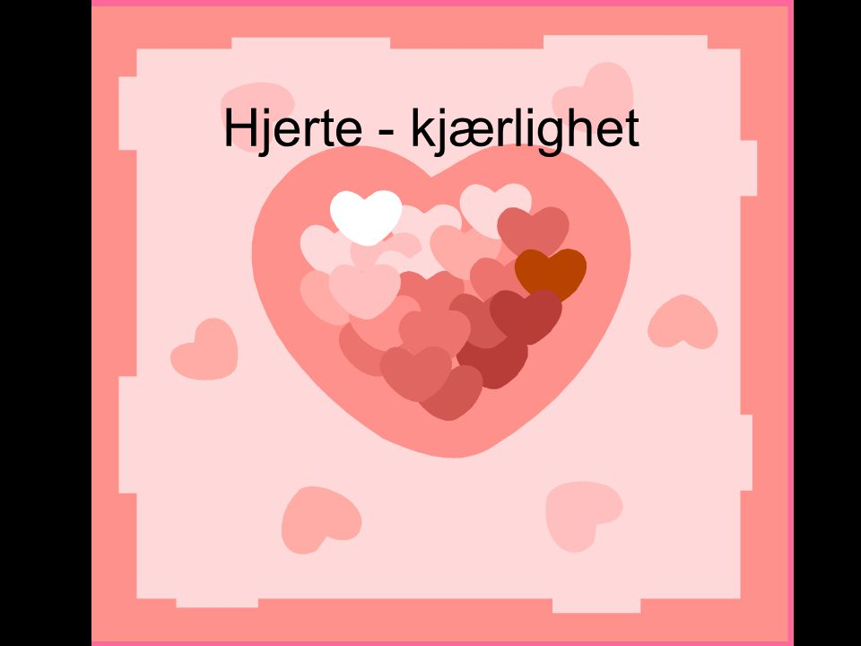 Hjerte - kjærlighet