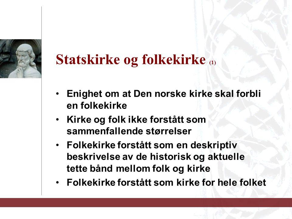 Statskirke og folkekirke (1)