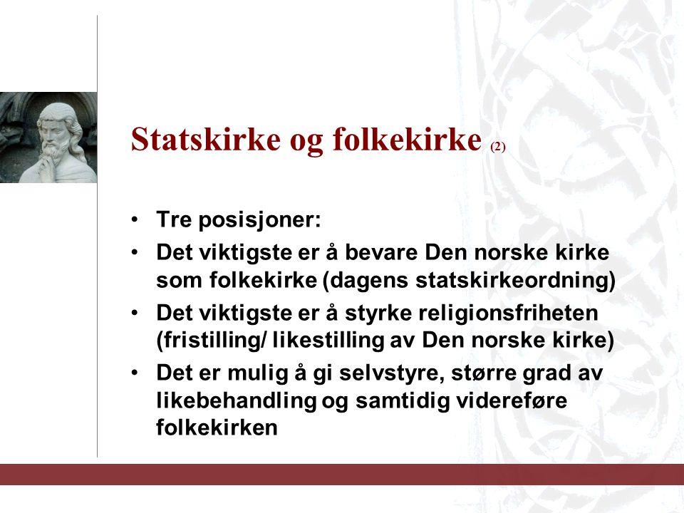 Statskirke og folkekirke (2)