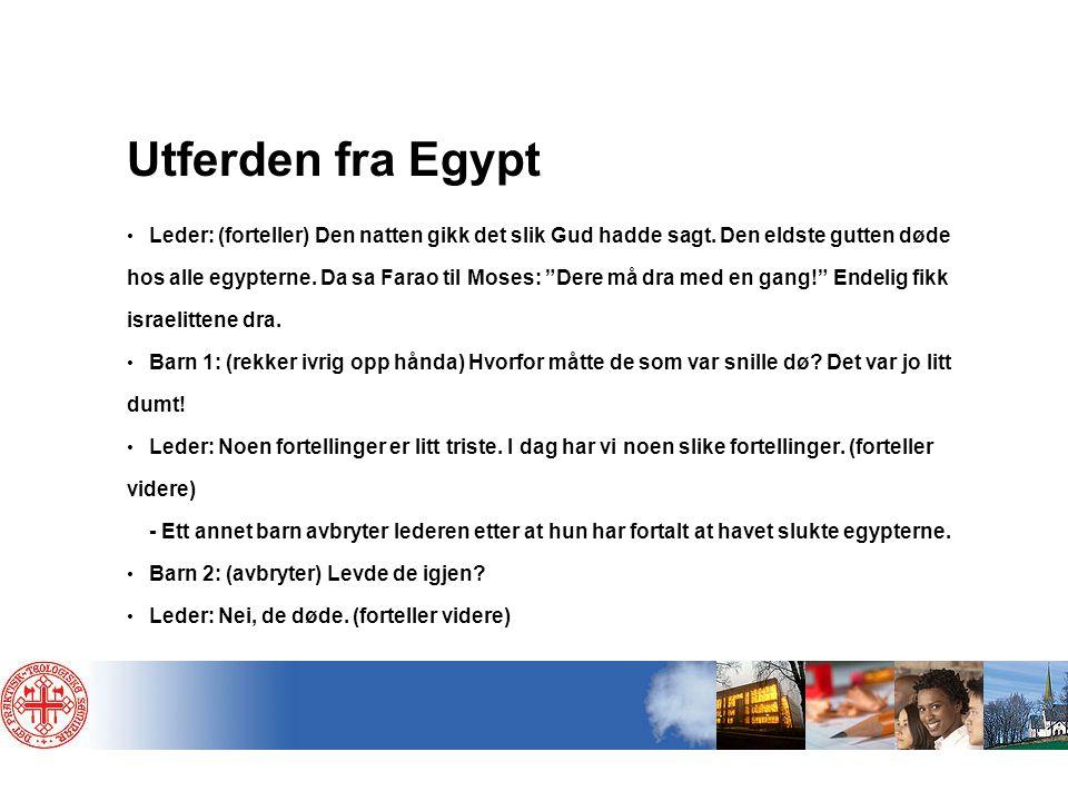 Utferden fra Egypt