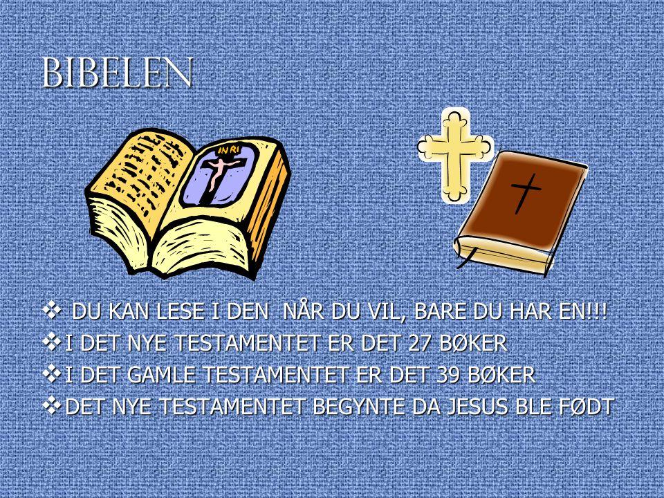 BIBELEN DU KAN LESE I DEN NÅR DU VIL, BARE DU HAR EN!!!