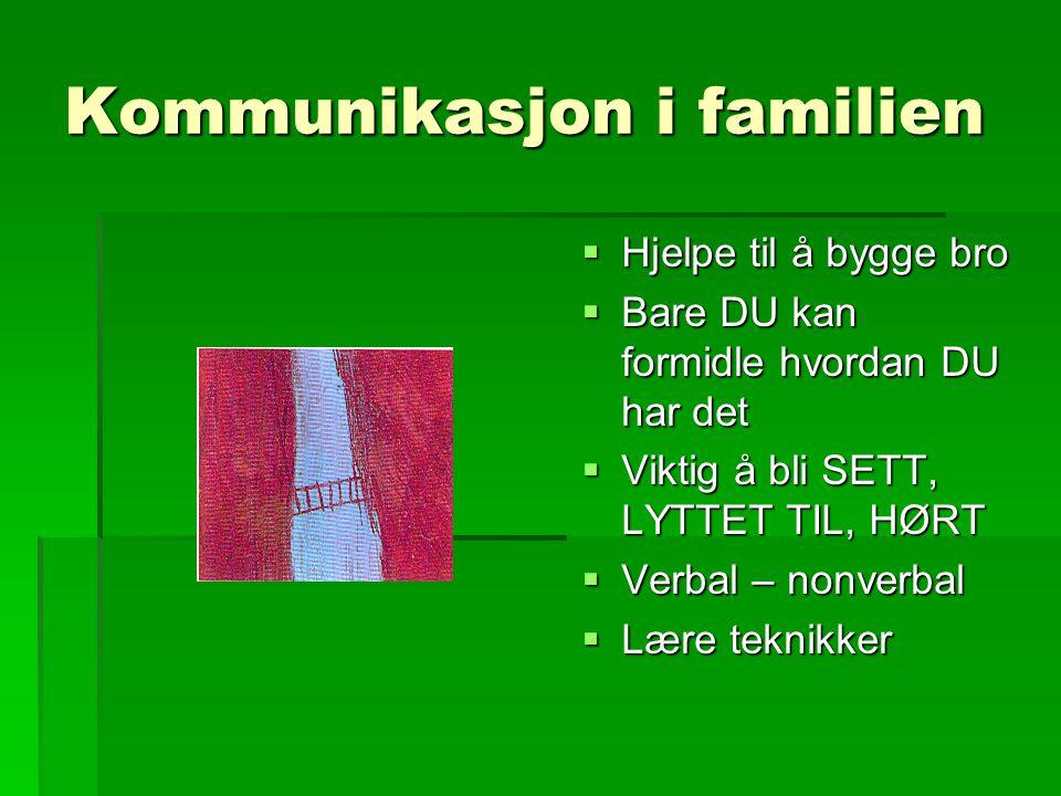Kommunikasjon i familien