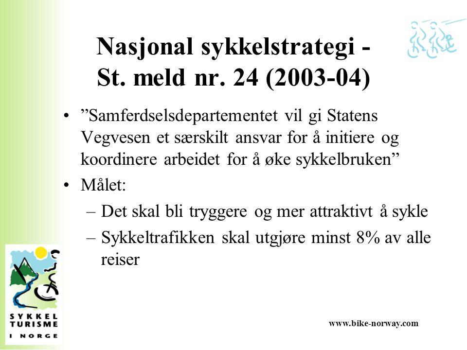 Nasjonal sykkelstrategi - St. meld nr. 24 (2003-04)