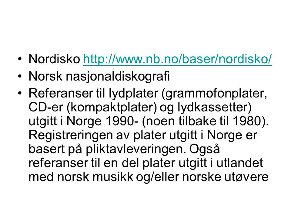 Nordisko http://www.nb.no/baser/nordisko/