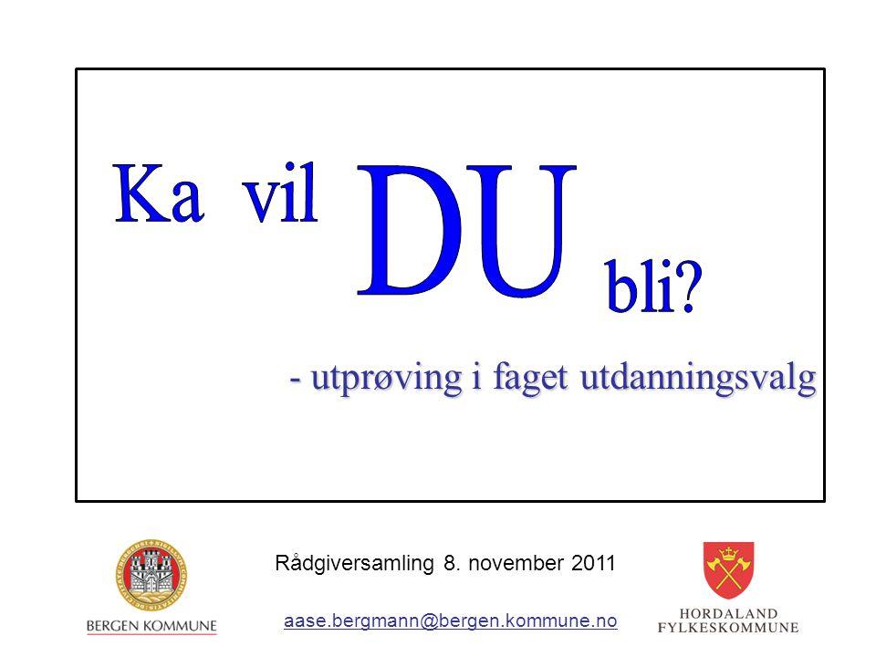 Rådgiversamling 8. november 2011