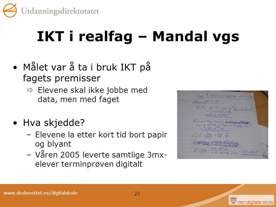 IKT i realfag – Mandal vgs
