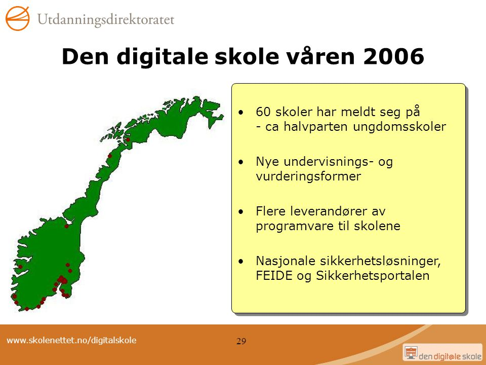 Den digitale skole våren 2006