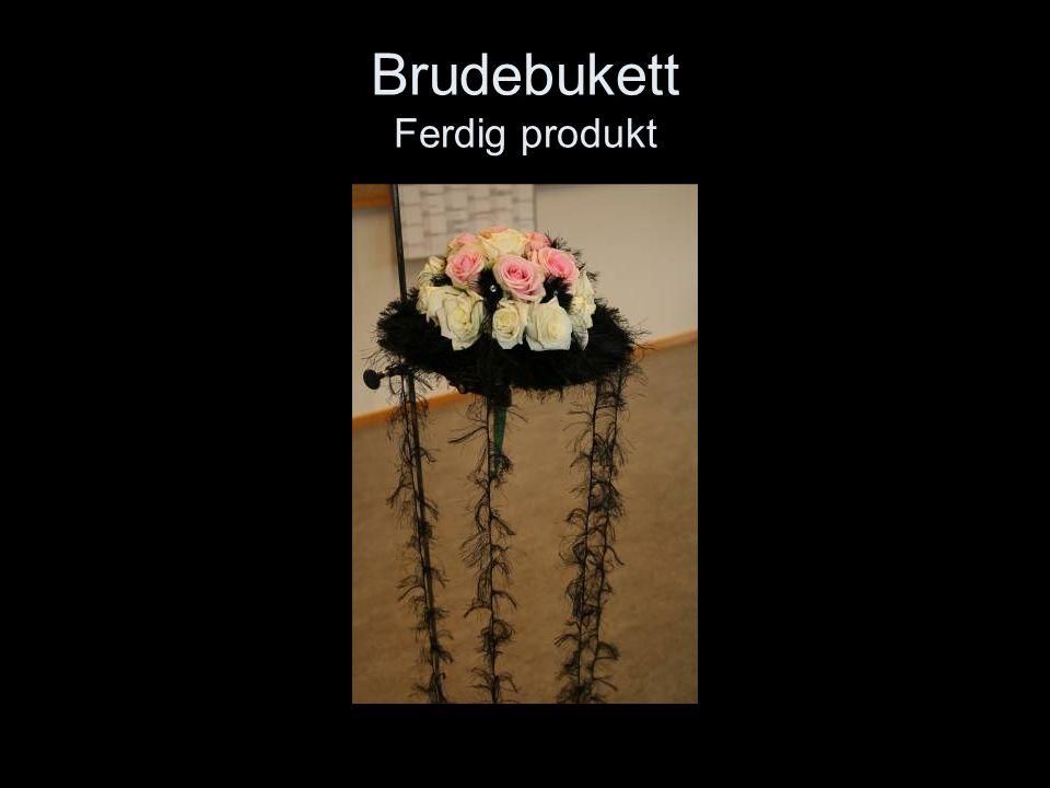 Brudebukett Ferdig produkt