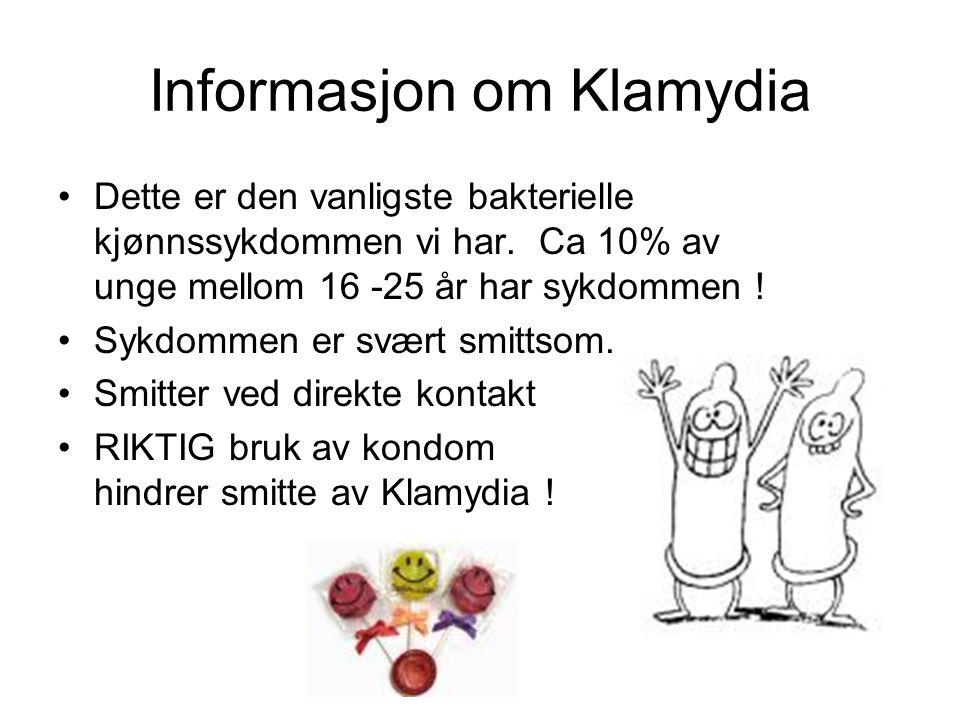 Informasjon om Klamydia