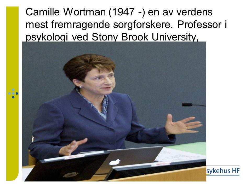 Camille Wortman (1947 -) en av verdens mest fremragende sorgforskere