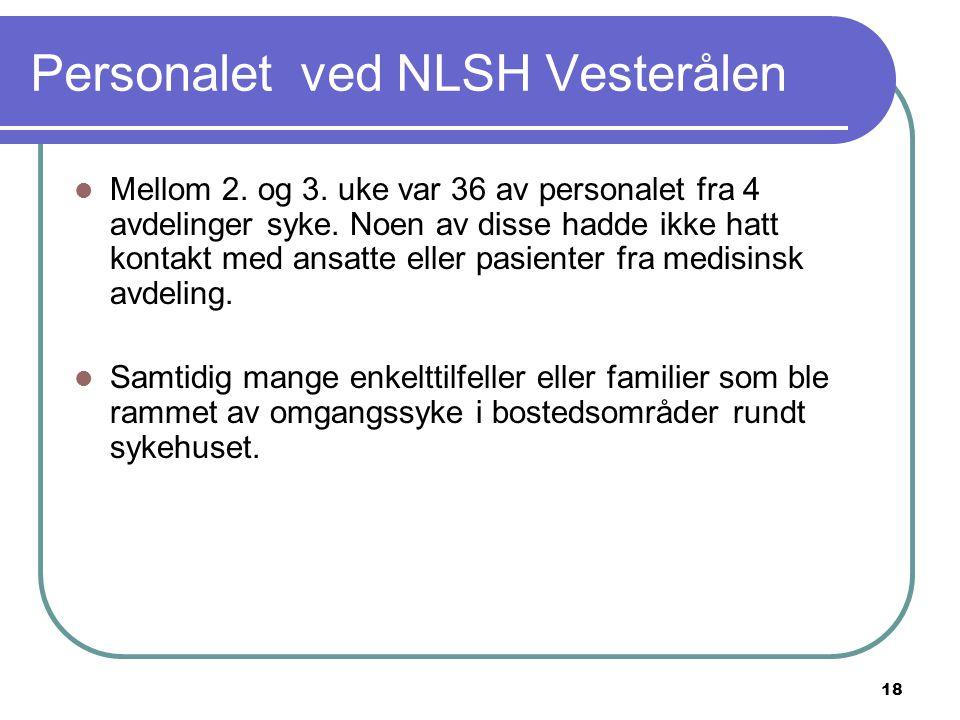Personalet ved NLSH Vesterålen