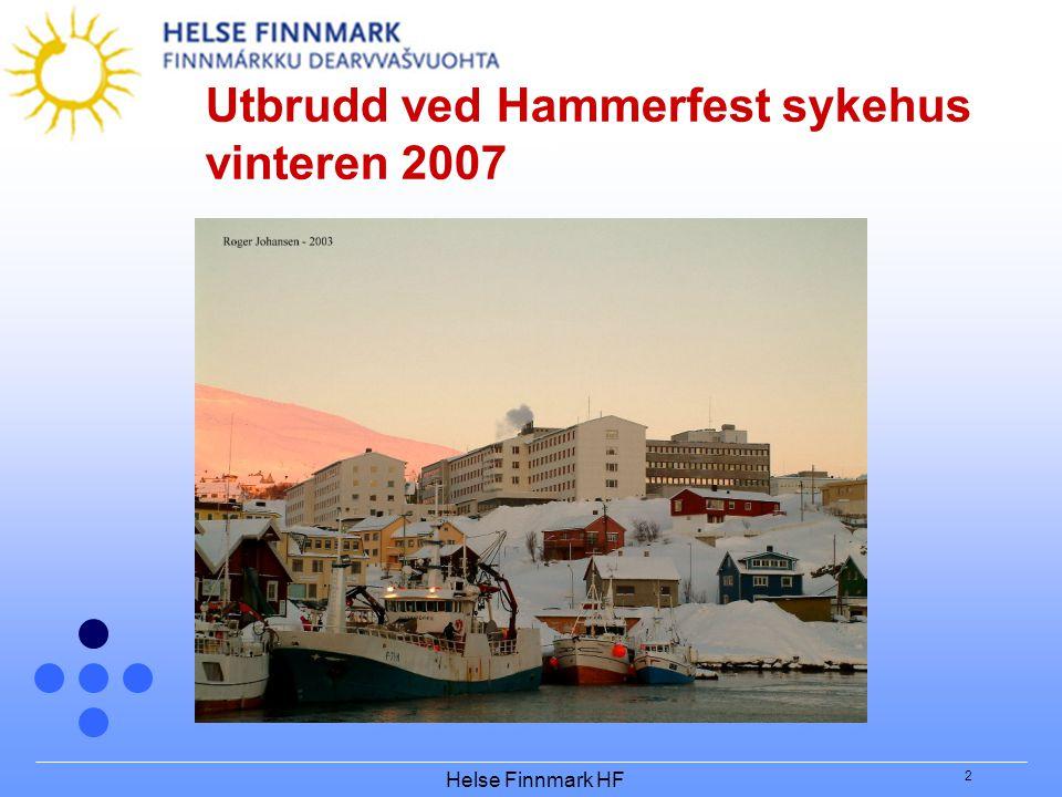 Utbrudd ved Hammerfest sykehus vinteren 2007