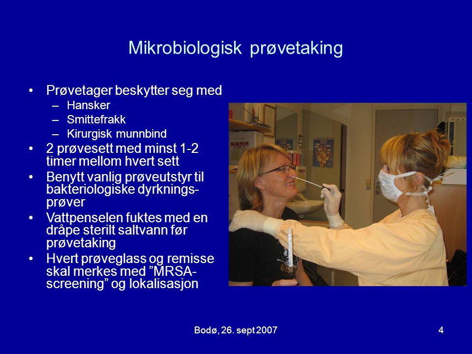 Mikrobiologisk prøvetaking