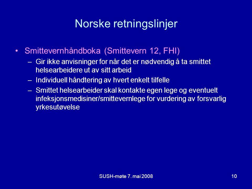Norske retningslinjer