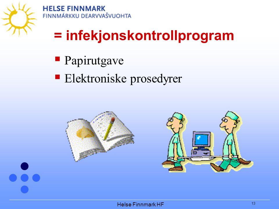 = infekjonskontrollprogram