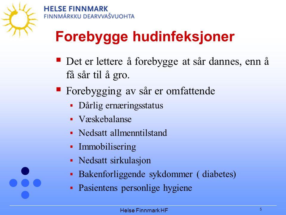Forebygge hudinfeksjoner