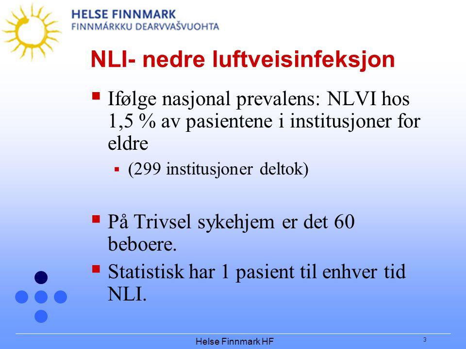NLI- nedre luftveisinfeksjon