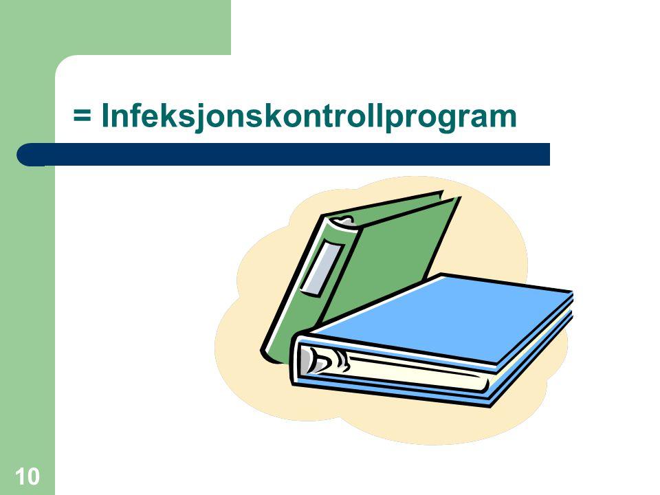 = Infeksjonskontrollprogram