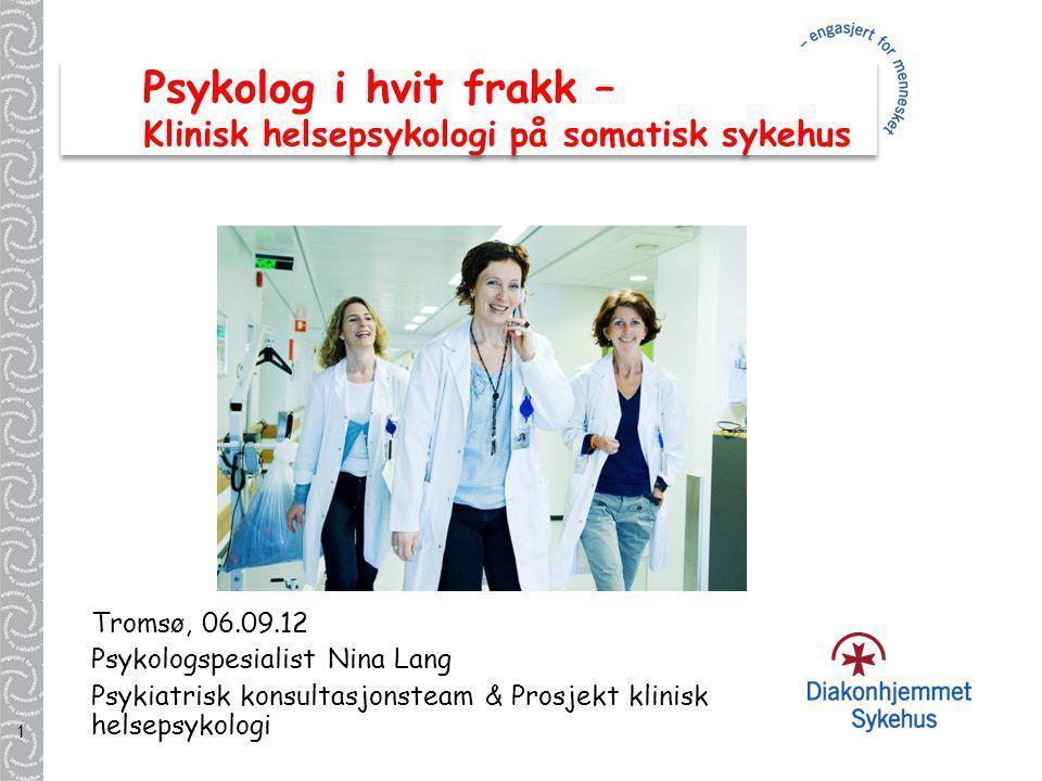 Psykolog i hvit frakk – Klinisk helsepsykologi på somatisk sykehus