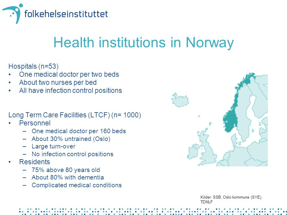Health institutions in Norway