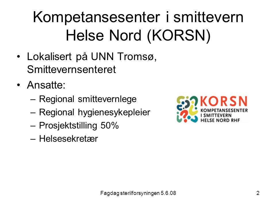 Kompetansesenter i smittevern Helse Nord (KORSN)