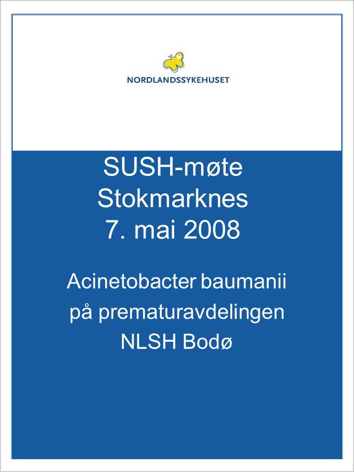 SUSH-møte Stokmarknes 7. mai 2008