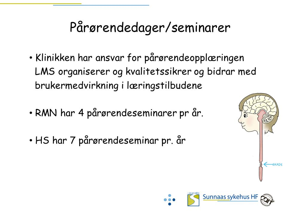 Pårørendedager/seminarer