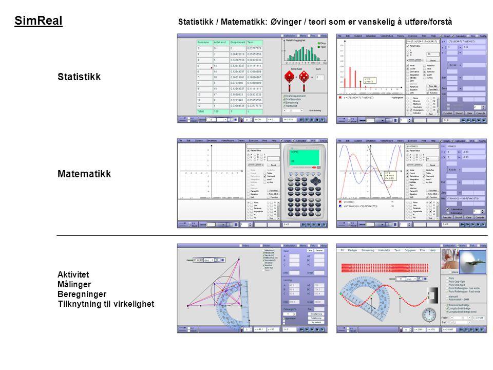 SimReal Statistikk Matematikk