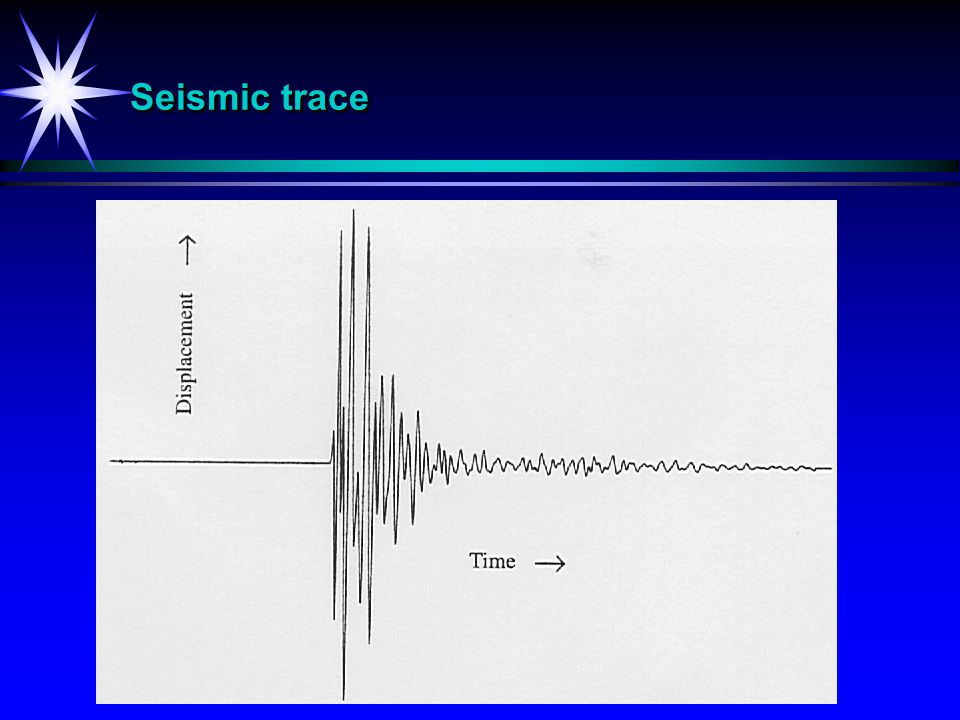 Seismic trace