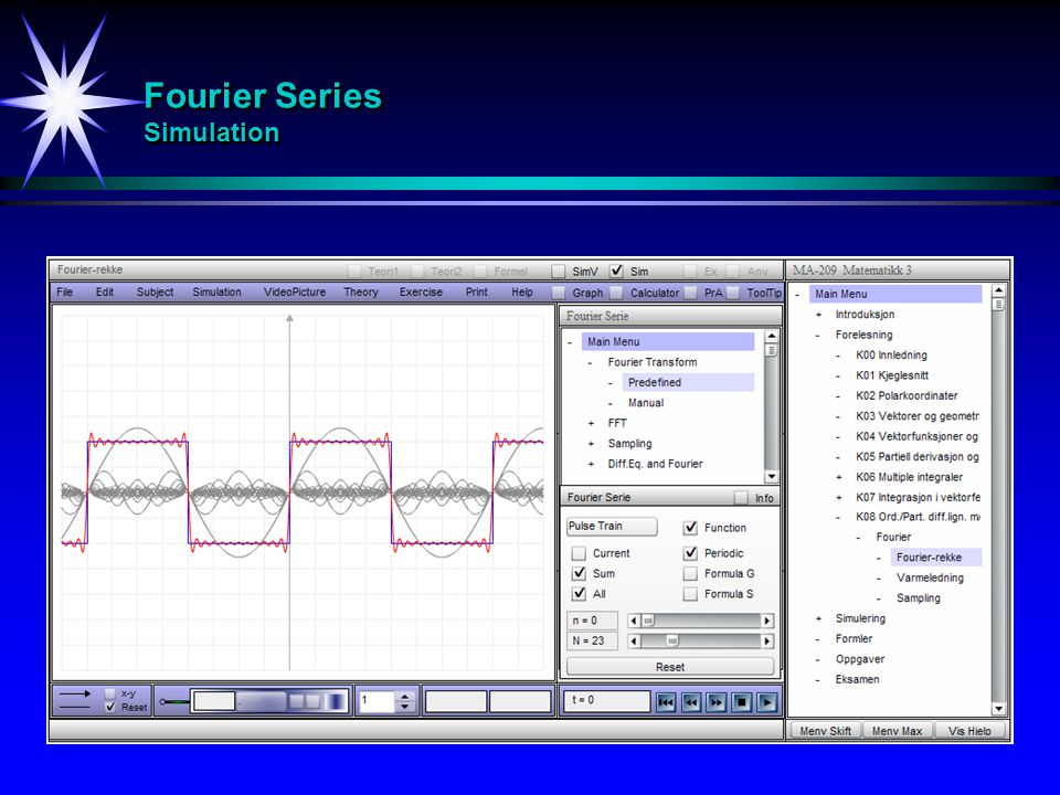 Fourier Series Simulation