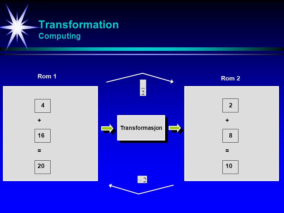 Transformation Computing