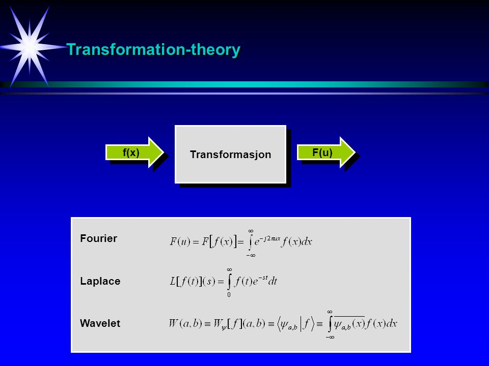 Transformation-theory