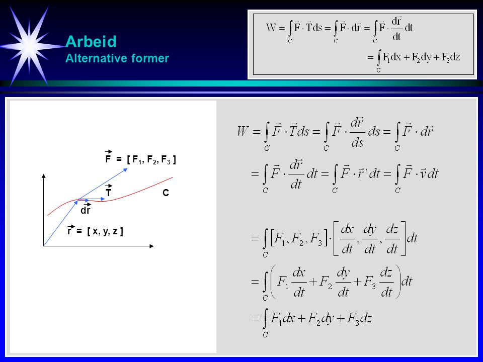 Arbeid Alternative former