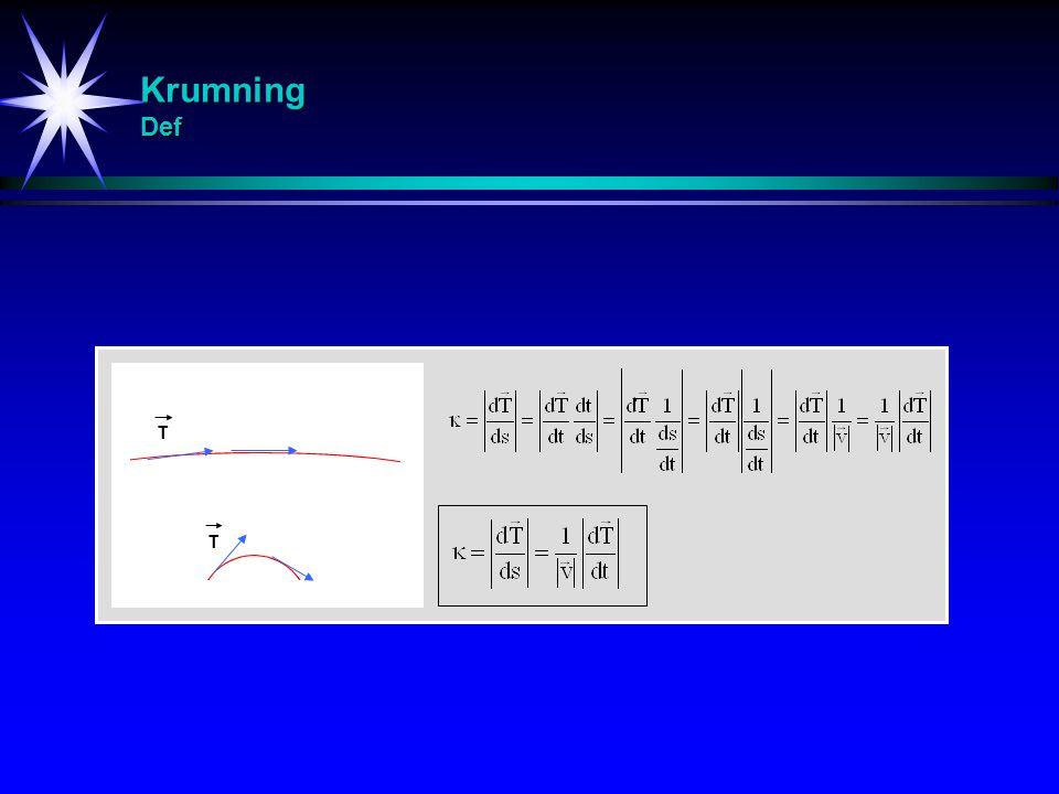 Krumning Def T T