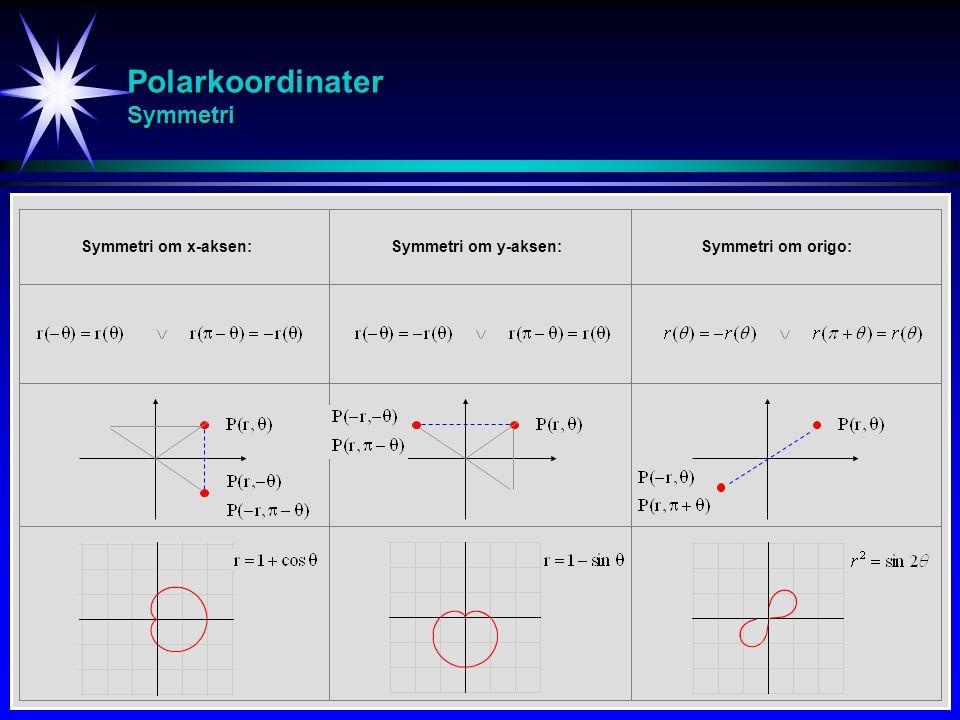 Polarkoordinater Symmetri