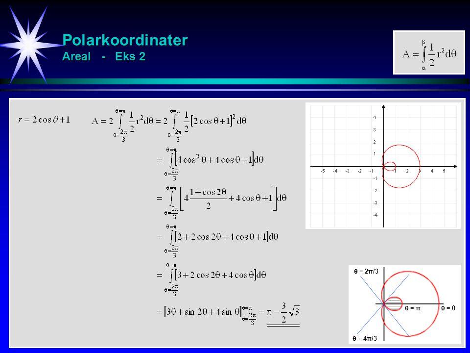 Polarkoordinater Areal - Eks 2