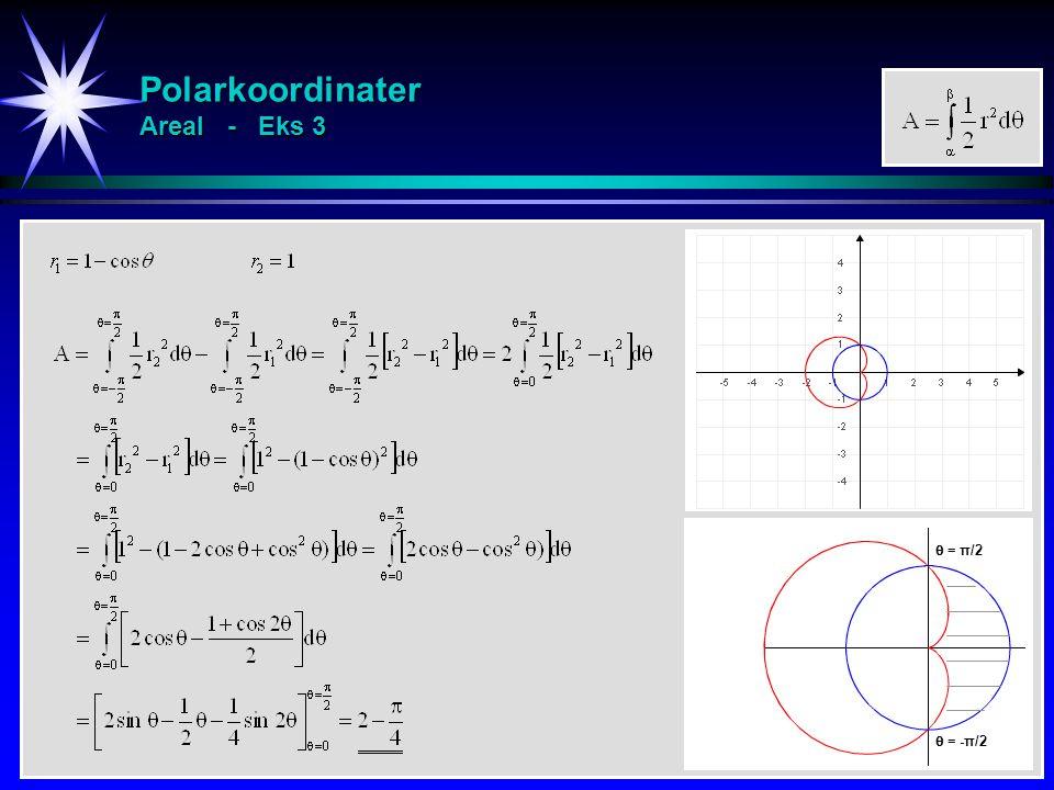 Polarkoordinater Areal - Eks 3