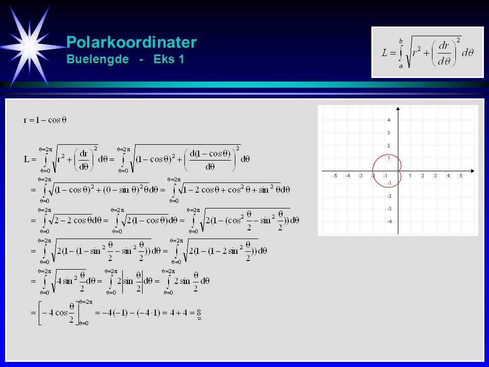 Polarkoordinater Buelengde - Eks 1
