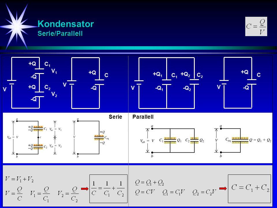 Kondensator Serie/Parallell